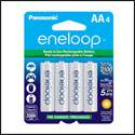 Panasonic Eneloop 2100 Cycle Rechargeable Batteries