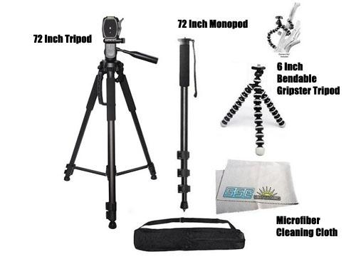72 inch Tripod and Monopod